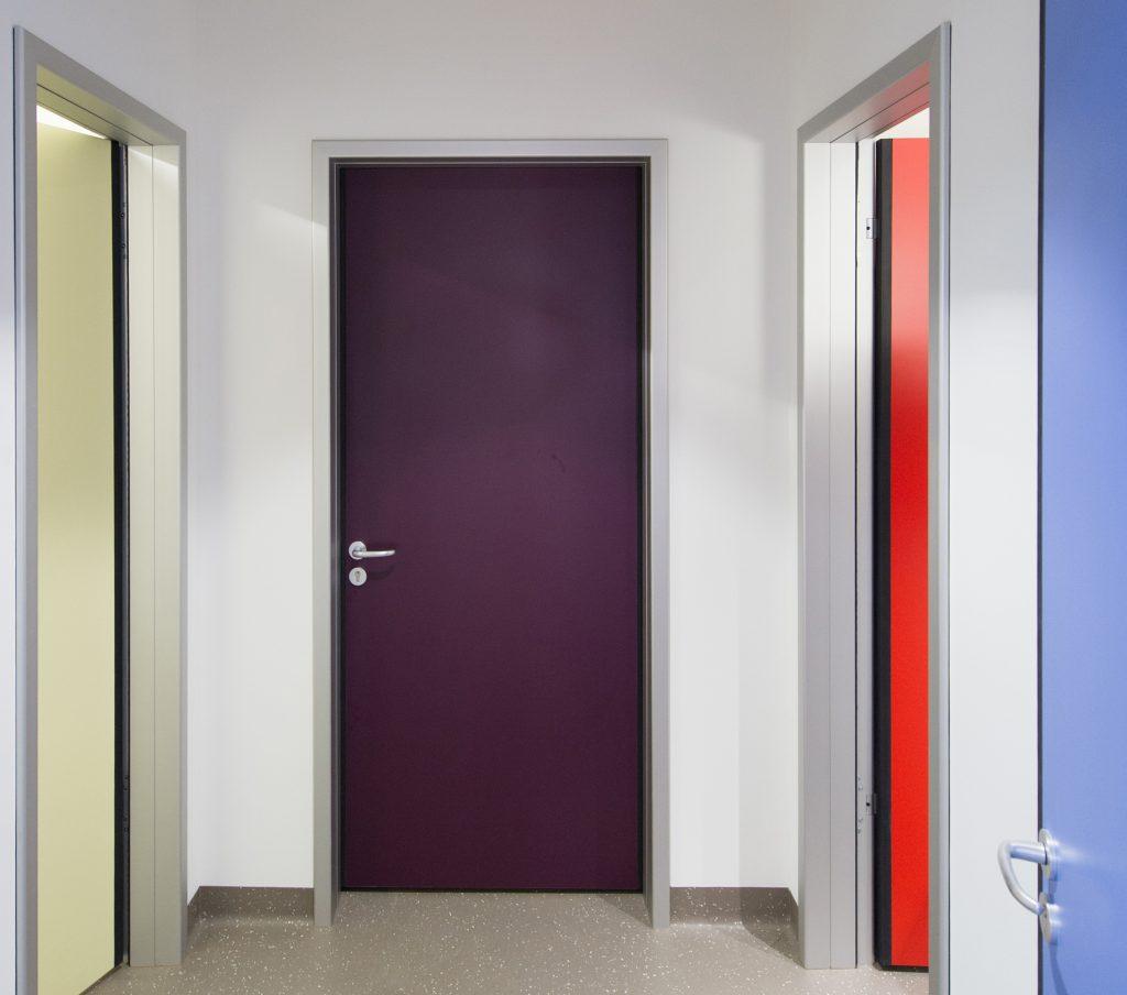 Türen mit Klemmschutzfunktion