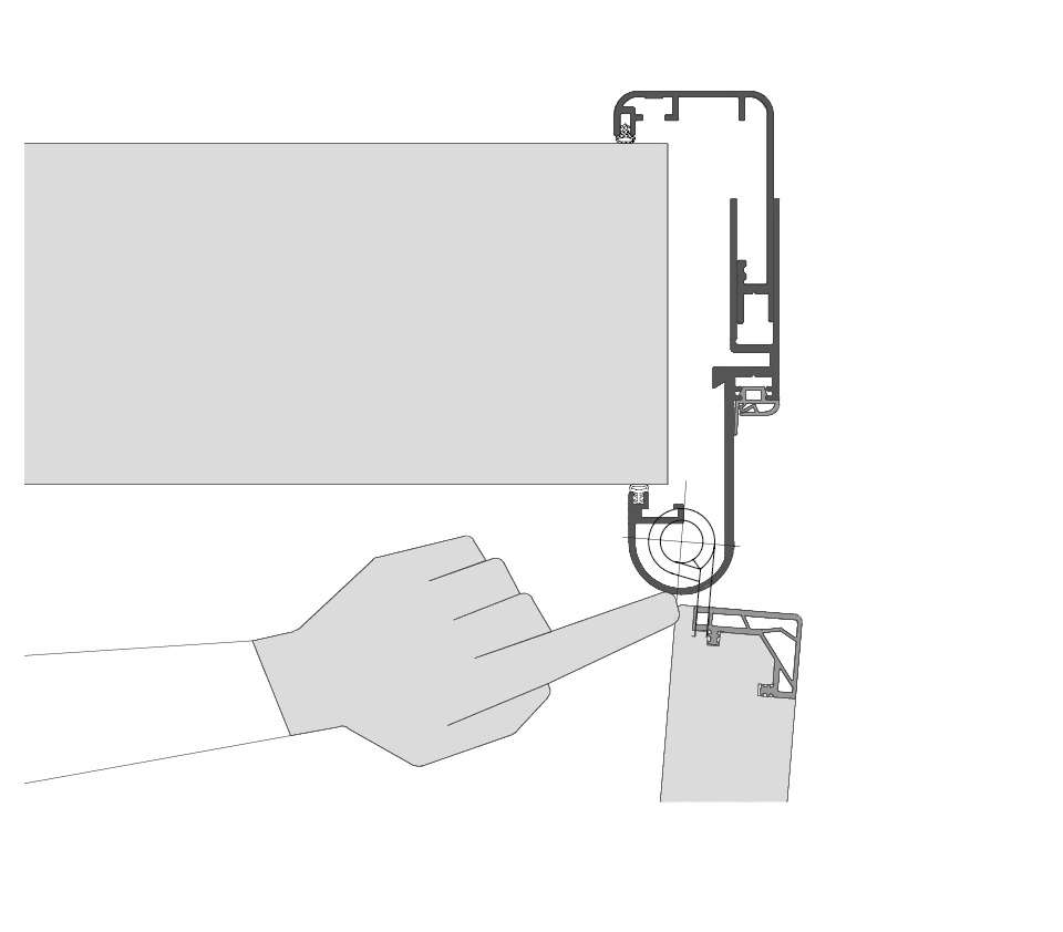 Küffner Fingerschutztür