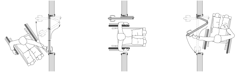 Bekannt Raumspartür auch für Rollstuhl und Rollatornutzer - Küffner Aluzargen JD15
