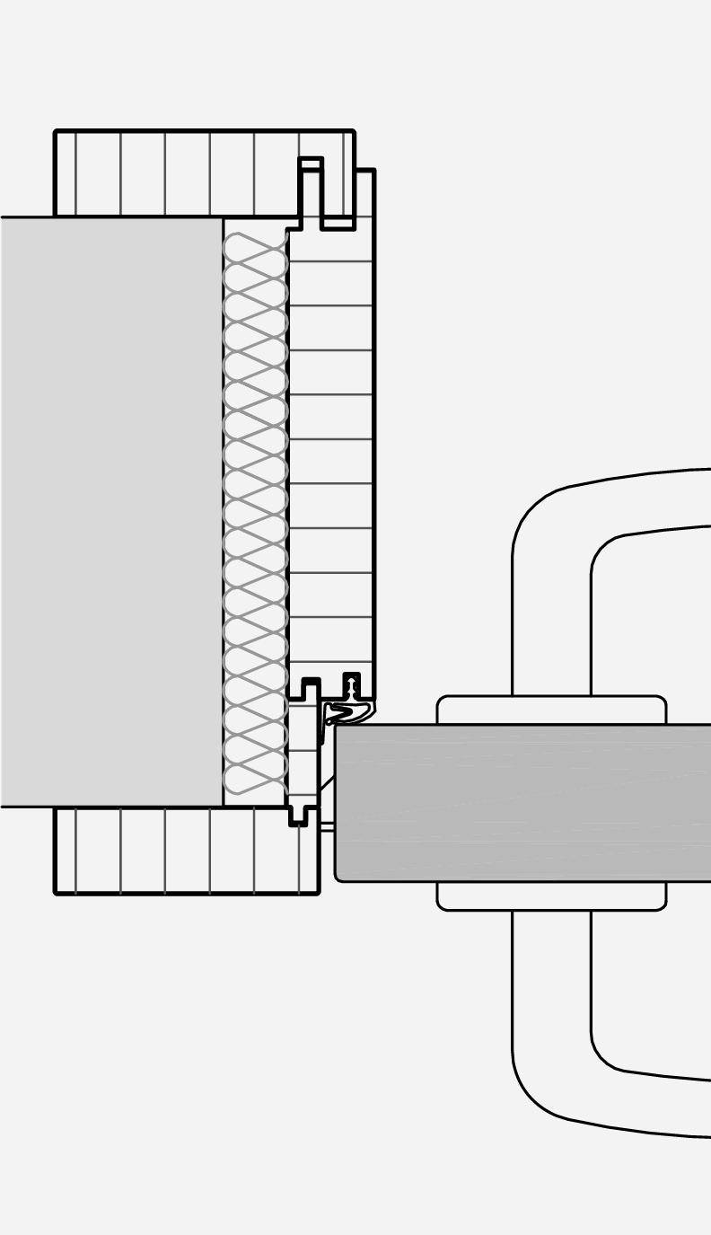 Raumspartür auch für Rollstuhl und Rollatornutzer - Küffner Aluzargen