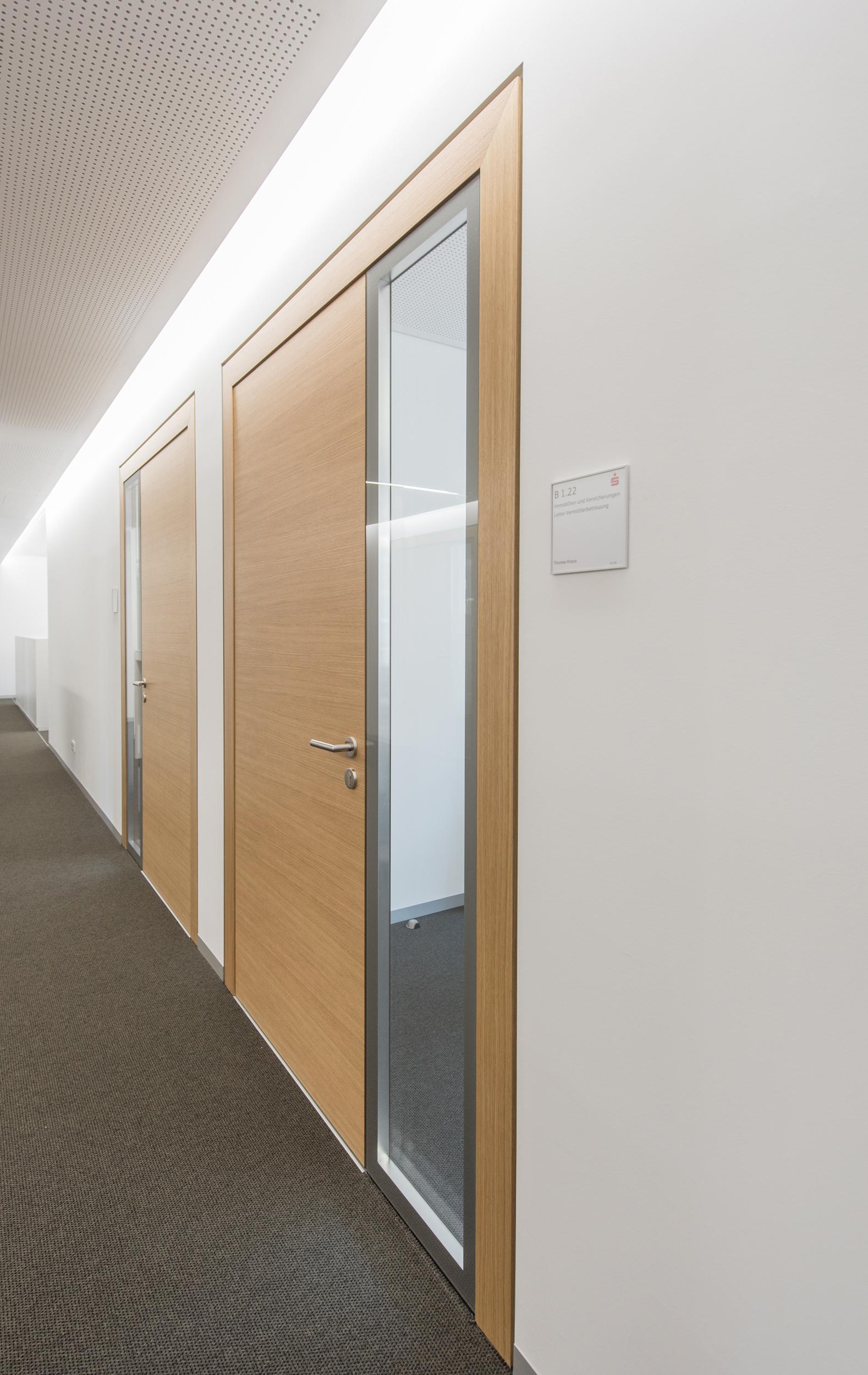 Glastüren - Ausführungsvarianten und Glasaufbau - Küffner Aluzargen