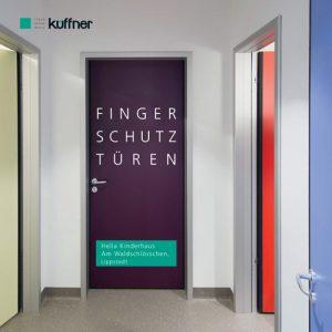 Fingerschutz in Türzarge und Türblatt