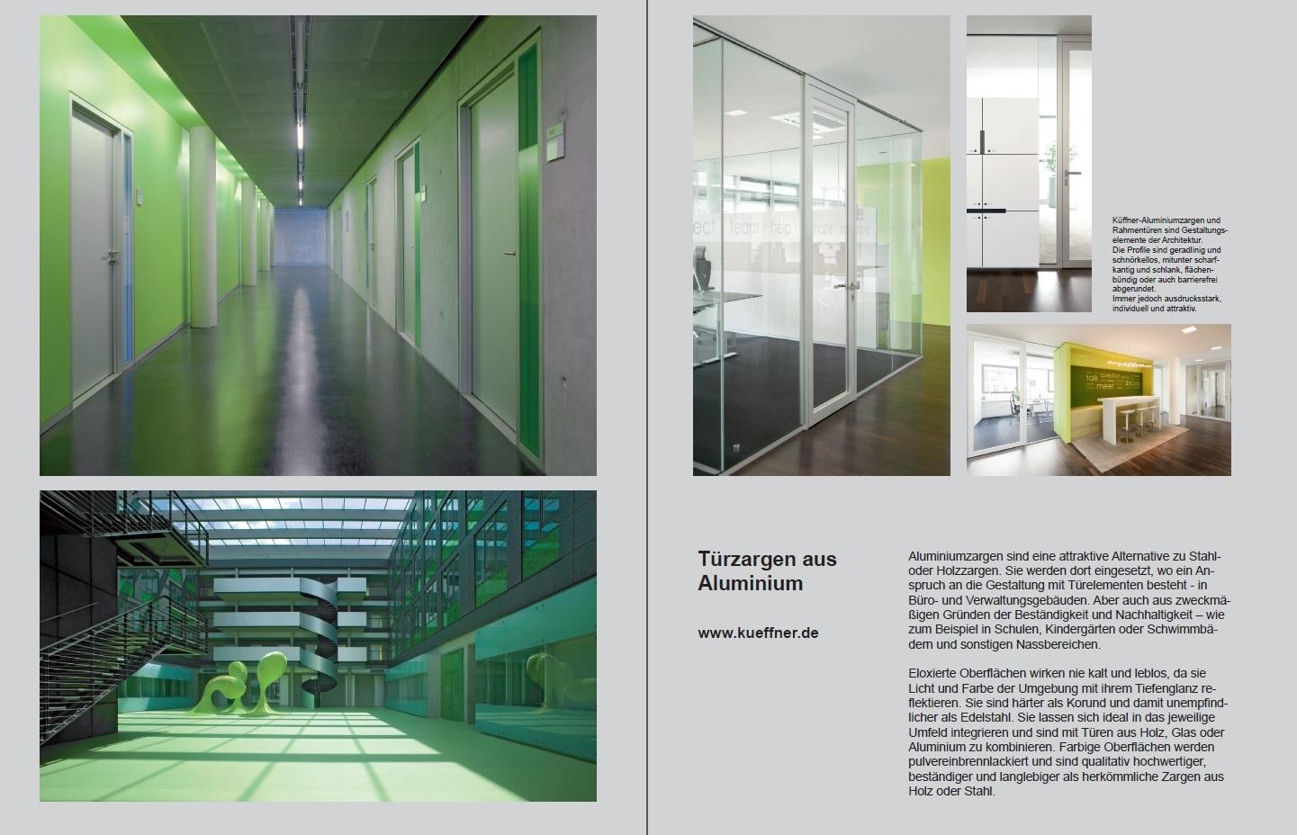 Baumeister - Das Architektur Magazin - Küffner Aluzargen