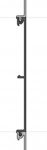 Küffner Aluminiumpaneel flach