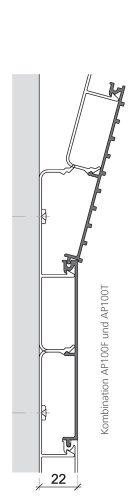 Küffner Glasverbund 0000 AP100 Kombination Unterschiedlicher Profile
