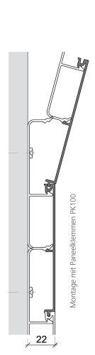Küffner Glasverbund 0001 AP100 Mit Paneelklemmen