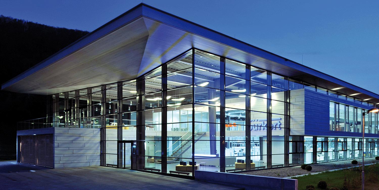 Dachuntersicht Aluminiumpaneele