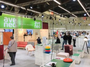 Messestand mit innovativen Ideen