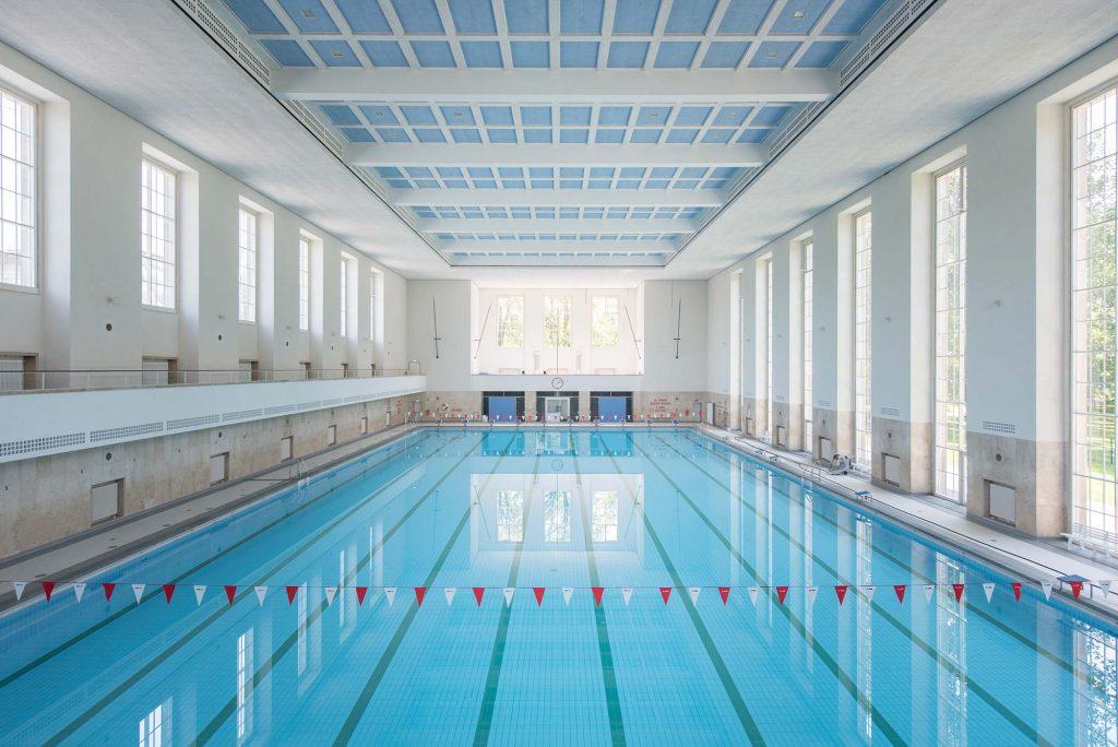 Referenzen k ffner aluzargen for Finckensteinallee schwimmbad