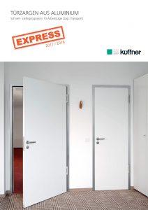 EXPRESS Lieferprogramm von Aluminium Türzargen