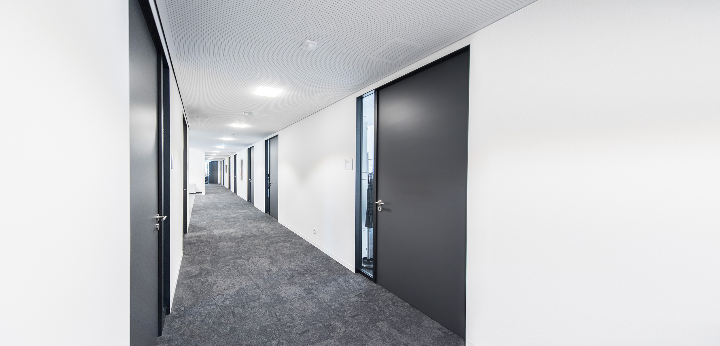 VR-Bank Aalen - Flur in der Verwaltung