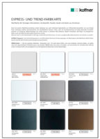 Farbkarate Express und Trend