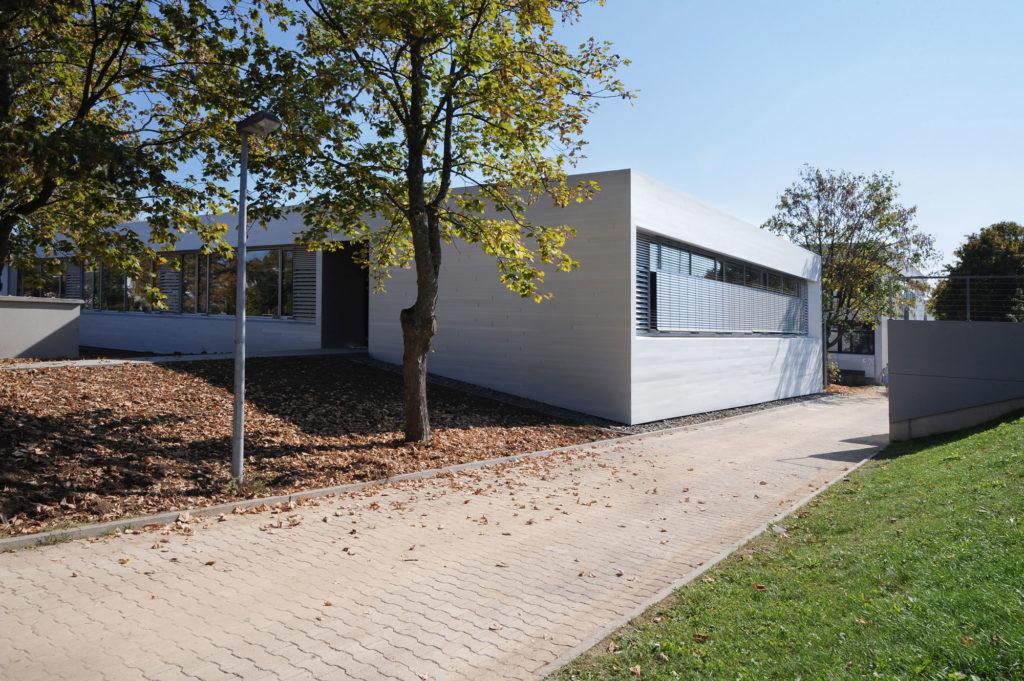 Aufnahme Gebäudehülle Aluminium
