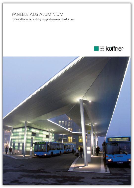 Broschüre zu Fassadenverkleidungen aus Aluminium
