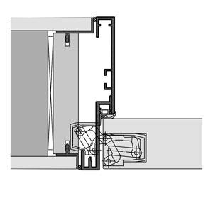 Gut gemocht Wandbündige Lösungen mit Türelementen und Fußleisten - Küffner NQ13
