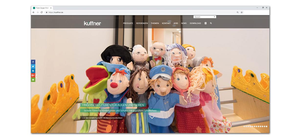Homepage Startseite Klemmschutz im Kindergarten
