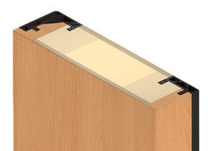 Küffner Türblatt für Fingerklemmschutz - Exclusiv
