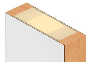 Küffner Türblatt für Fingerklemmschutz - Funktion