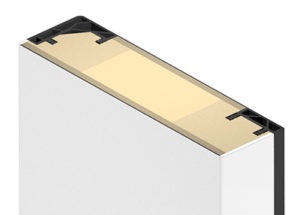 Küffner Türblatt für Fingerklemmschutz - Standard