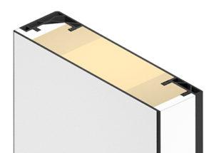 Küffner Türblatt für Fingerklemmschutz - Universal