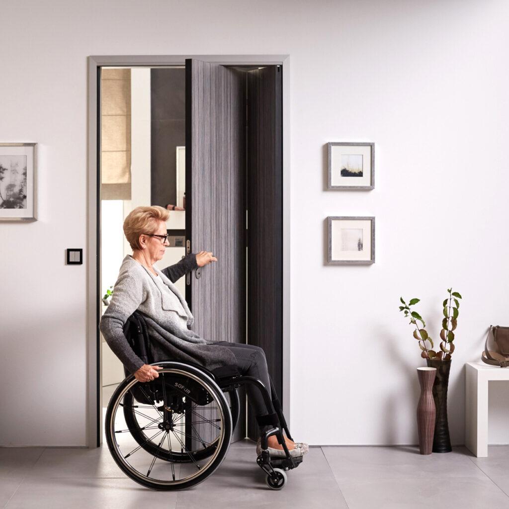 Behindertengerechte Tür